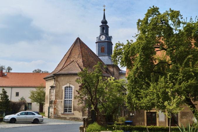 Schloss und Schlosskirche Lockwitz