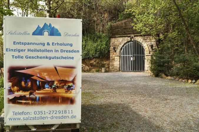 """Neben der Eventlocation """"Unterirdischen Welten""""befindet sich hier der einzige Heilstollen Dresdens"""