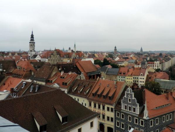 Blick über die Görlitzer Altstadt