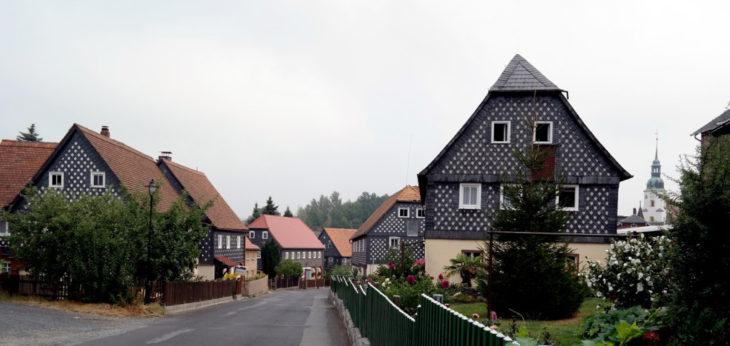 Umgebindehäuser in Obercunnersdorf