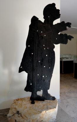 """Gipfelfigur """"Mönch"""" im Museum Bad Schandau"""