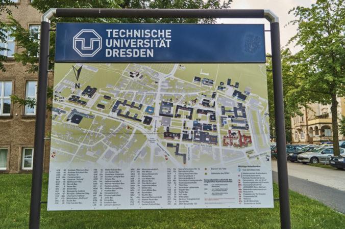 Der Universitätskomplex ist der größte ganz Sachsens!