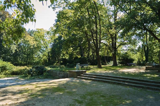 Für kleine Pausen ist der Beutler Park ideal!