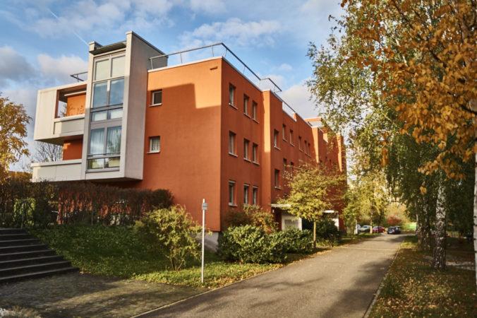 Moderne Wohnhäuser am Kamillenweg