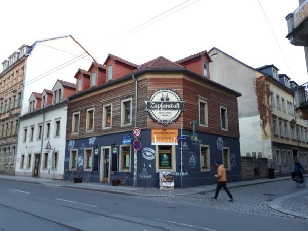 Die Zapfanstalt ist bei vielen Leuten sehr bekannt für die große Auswahl an Biersorten.
