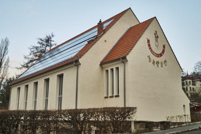 Weinbergkirche in Trachenberge