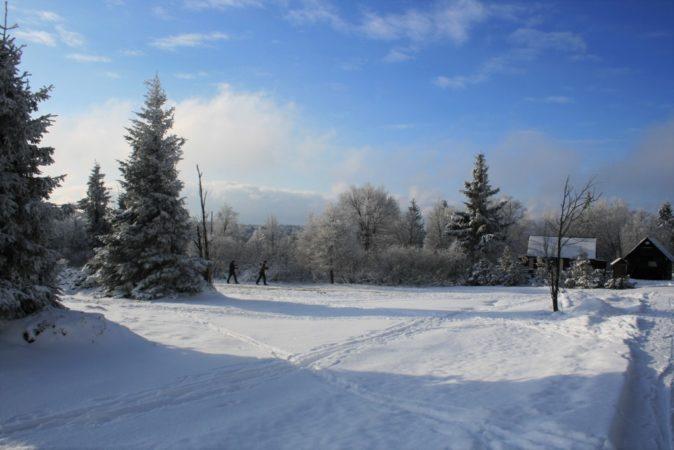 Auf so ein traumhaftes Winterwetter müssen wir wohl noch warten.