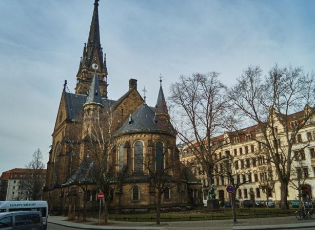 Martin- Luther- Kirche in der Äußeren Neustadt