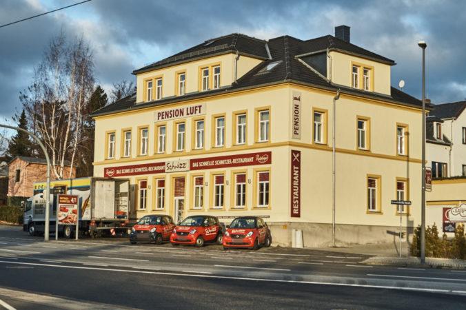 Das Restaurant Schnizz in Gompitz