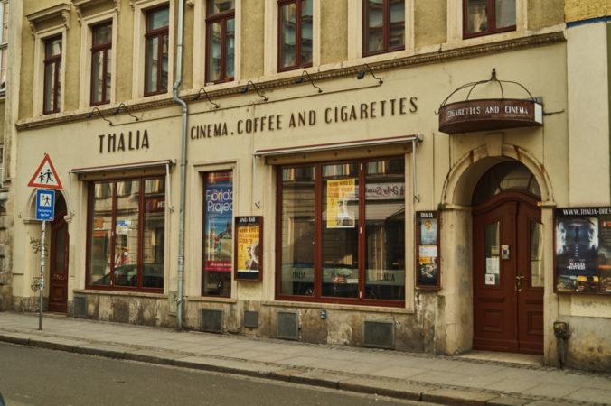 Das Thalia- Kino in der Äußeren Neustadt