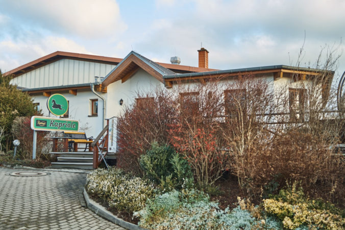 Gaststätte und Kegelbahn Kapriole in Gompitz