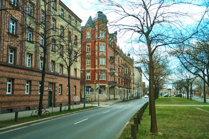 Mietshäuser in der Leipziger Vorstadt