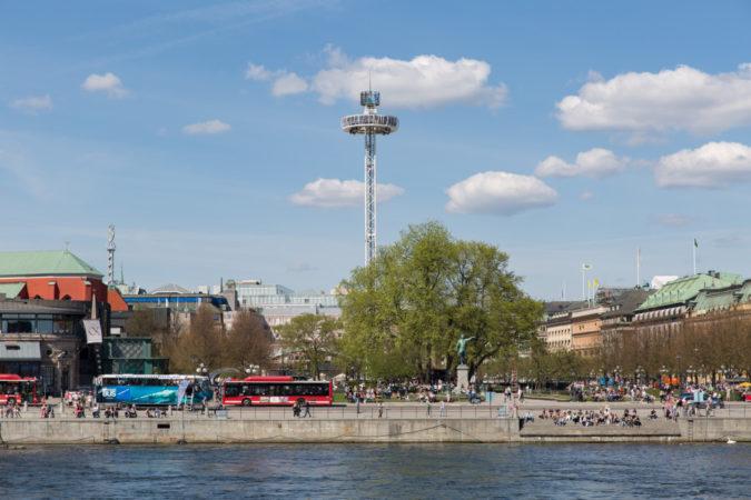 Der City Skyliner in Stockholm, bald auch in Dresden Copyright by Skyliner GmbH