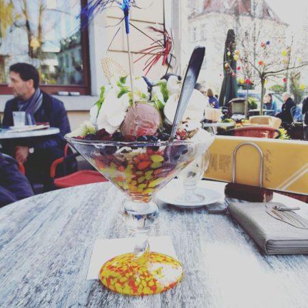Beliebtestes Eis in Striesen – Café Lösch. | Bild: Instagram/shirleycordula