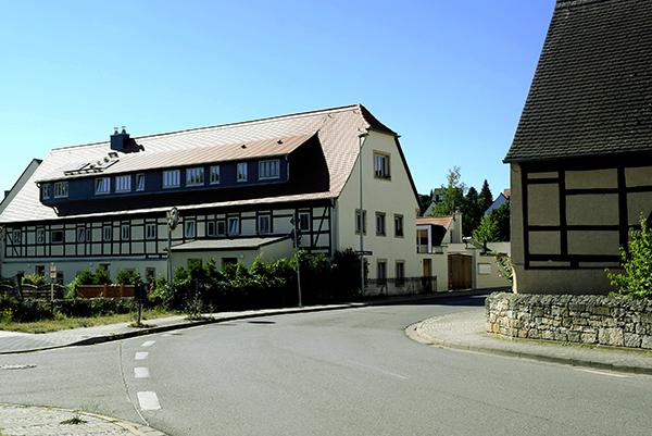 Fachwerkhäuser in Mockritz