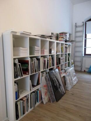 Hier entsteht die Gerhard-Steidl-Leihbibliothek