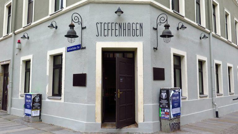 Steffenhagen an der Kamenzer Straße, Ecke Schönfelder Straße