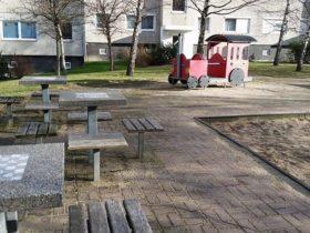 Spielplatz Nähe Kresseweg in Dresden-Gorbitz