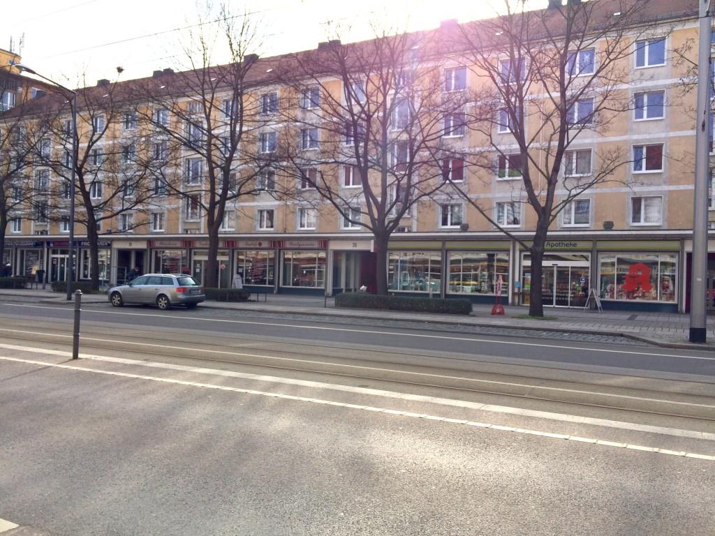 Ein typischer Neubau in Striesen-Ost