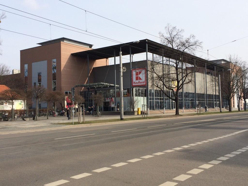 Kaufland auf der Borsbergstraße 35