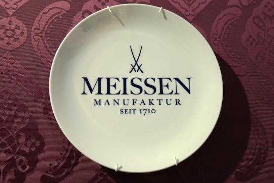 Logo der Meissen Porzellanmanufaktur