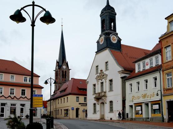 Wilsdruff – die kleine Stadt mit dem großen Sendemast