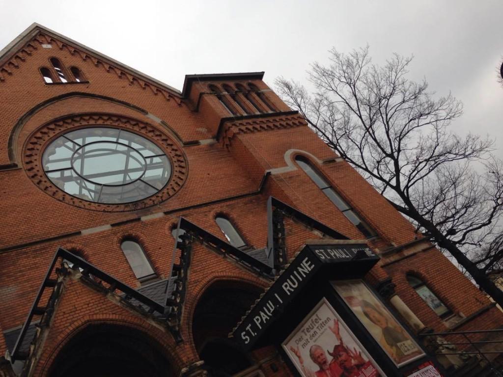 Die St. Pauli Kirche dient seit Mitte der 90er als Kultur- und Begegnungsstätte