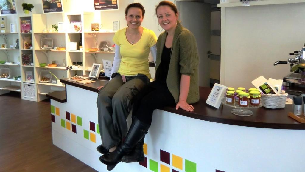"""Sabine Zestermann und Katharina Raue im """"Koch selbst!"""" Foto: PR"""
