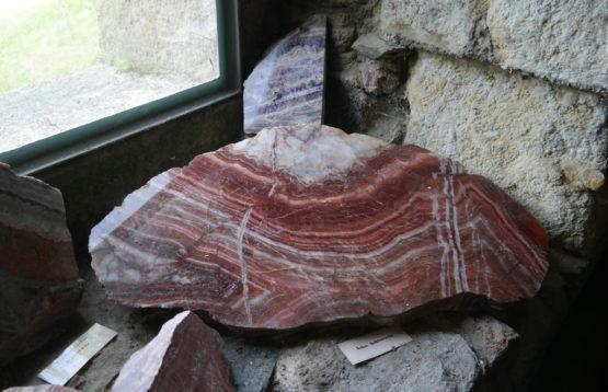 Marmor im Maxener Kalkbrennofen