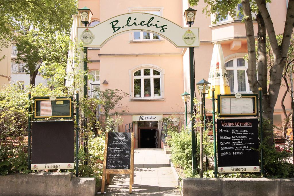Eine klare Empfehlung ist das Café und Restaurant B.liebig auf der Liebigstraße.