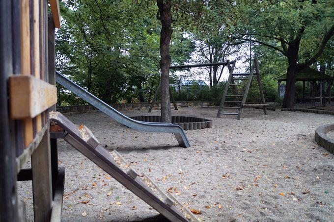 Spielplatz unterhalb des Fichteparks