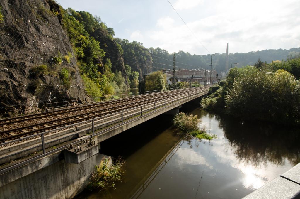 Die S- Bahn Strecke zwischen Tharandt und Dresden wird gern genutzt