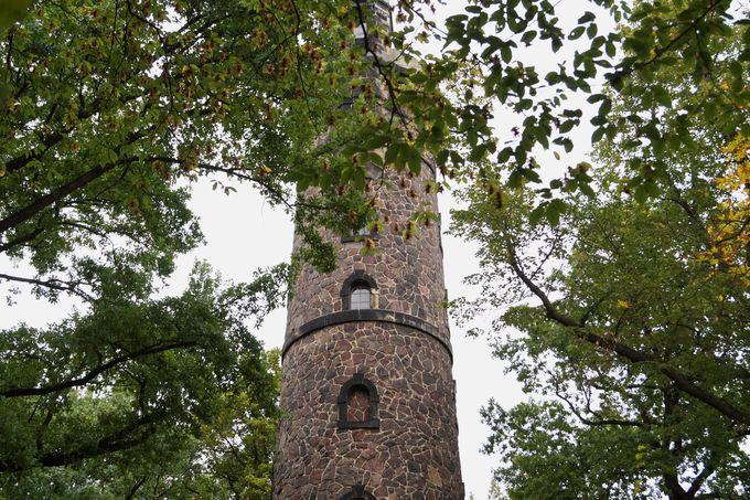 Der Fichterturm ist nicht nur von außen beeindruckend