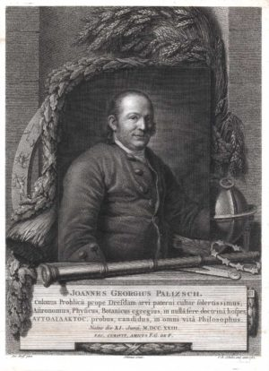 Stich von Christian Gottfried Schulze (1782) nach Graff-Gemälde von 1777