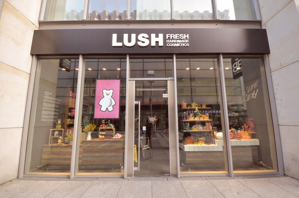 """Handmade Cosmetics zu finden bei """"Lush"""" in Dresden"""