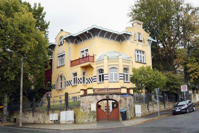 Eine repräsentative Villa im Jugendstil auf der Westendstraße 21