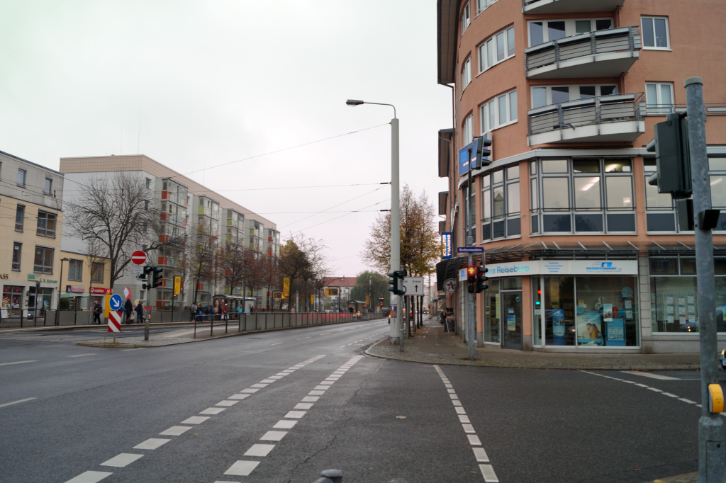 An der Zwinglistrasse verkehren täglich viele Fahrzeuge