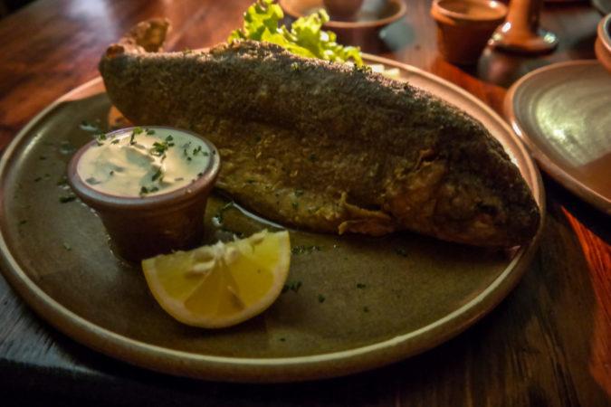 Die Erzählung mit dem Schlüssel - Bennos Fischgericht