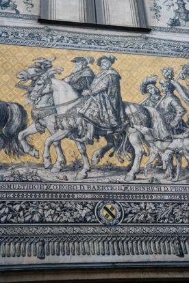 Georg der Bärtige am Fürstenzug