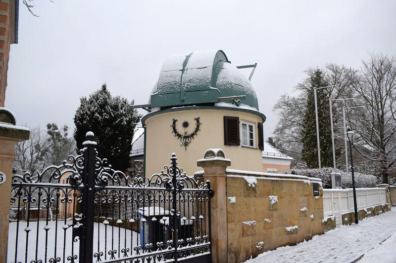 Die Sternwarte des Forschungsinstituts
