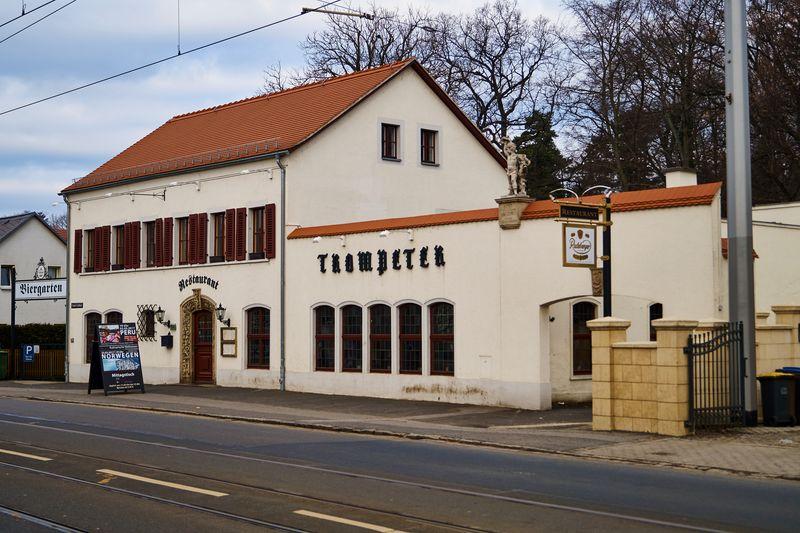 """Die historische Gaststätte """"Trompeter"""""""