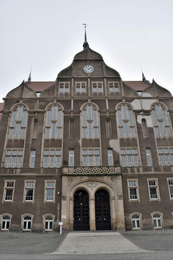 Das Pestalozzi-Gymnasium in Heidenau