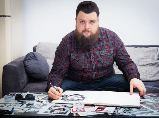 Christian - Der kreative Maler aus Seevorstadt.