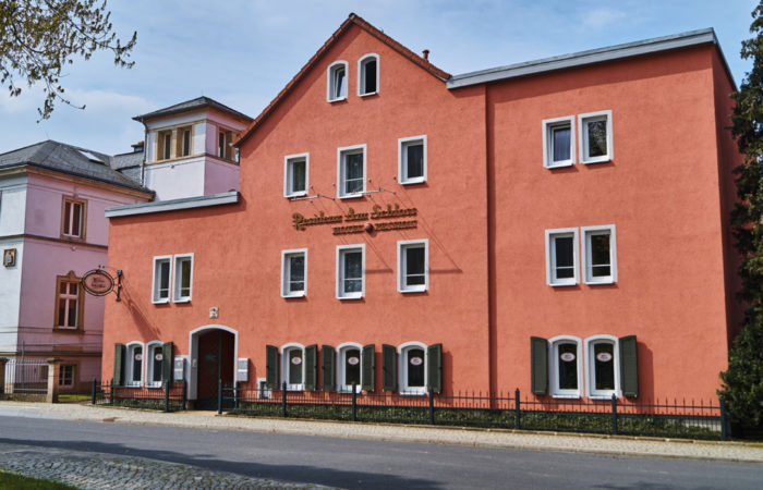 In Lockwitz befinden sich viele Hotels und Pensionen, die zum Verweilen einladen