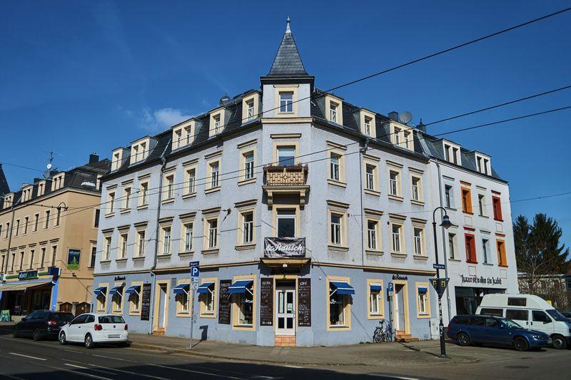 Das &Rausch befindet sich an der Bürgerstraße 36