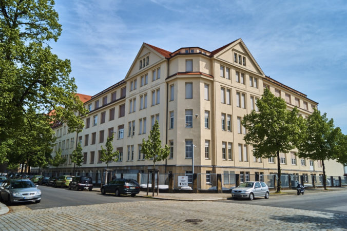 Ehemalige United AG Zigarettenmaschinenfabrik Wilhelm Lande