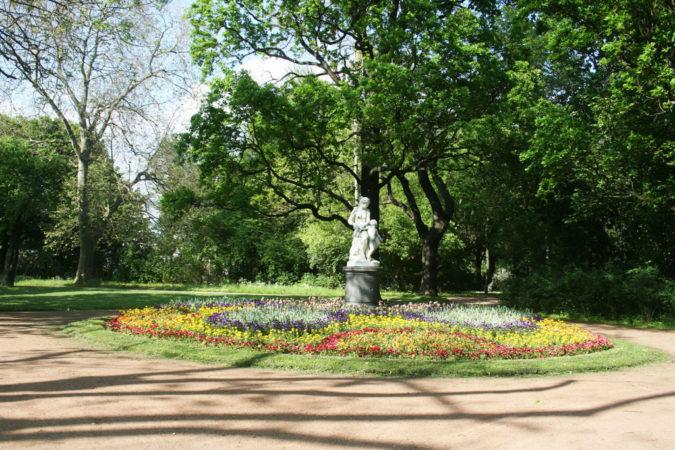 Ausblick im Großen Garten