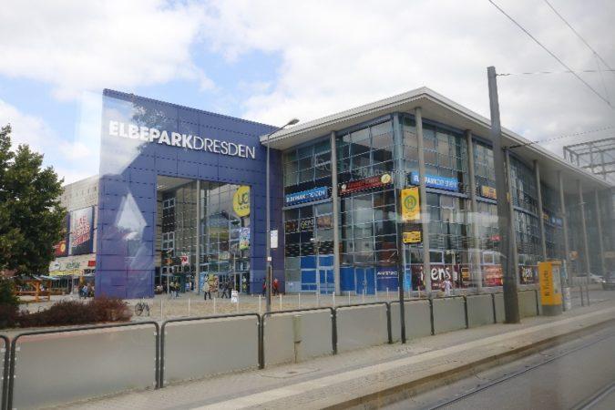 Der Elbepark in Kaditz.