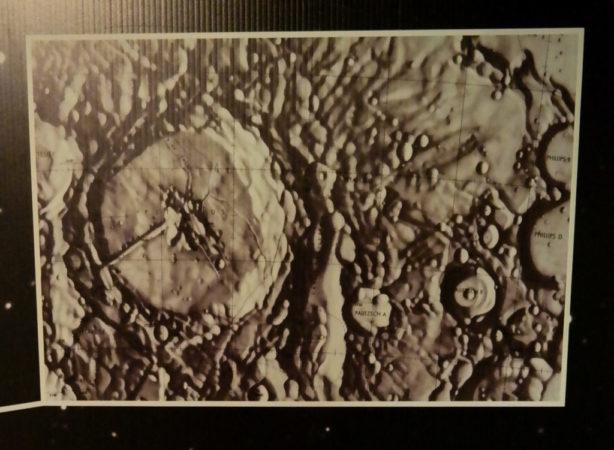 Die Mondkrater Palitzsch A und B