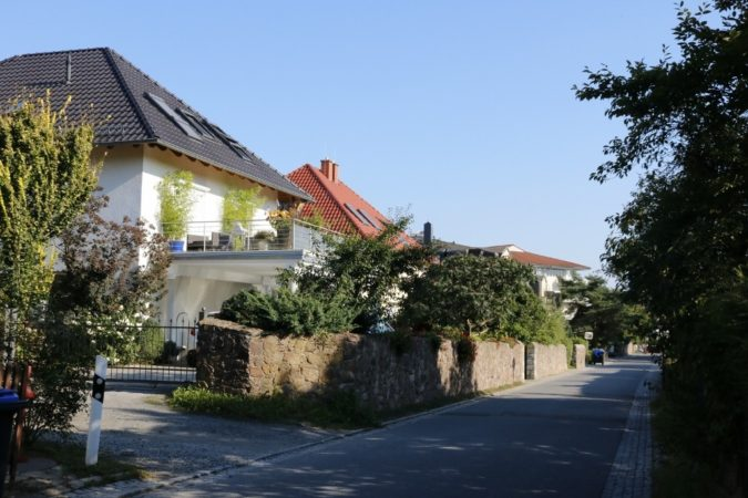 schicke Häuser und Villen zählen zu den Besonderheiten Radebeuls.